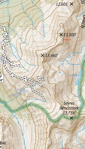 Crop of Collegiate Peaks Wilderness 2