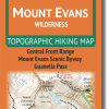 Cover of Mount Evans Wilderness Hiking Map