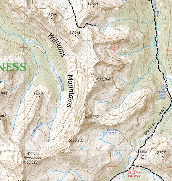 Hunter-Fryingpan Wilderness / Mount Massive Wilderness Crop 3