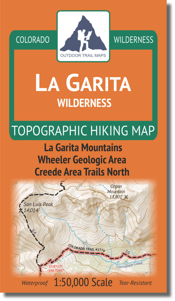 Cover of La Garita Wilderness Map