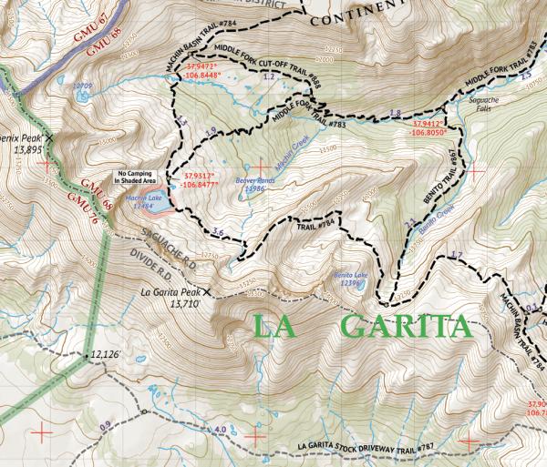 La Garita Wilderness Map Crop 2