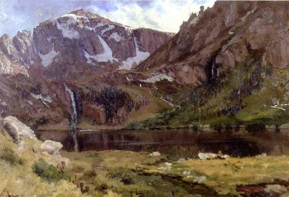 Mountain Lake by Albert Bierstadt