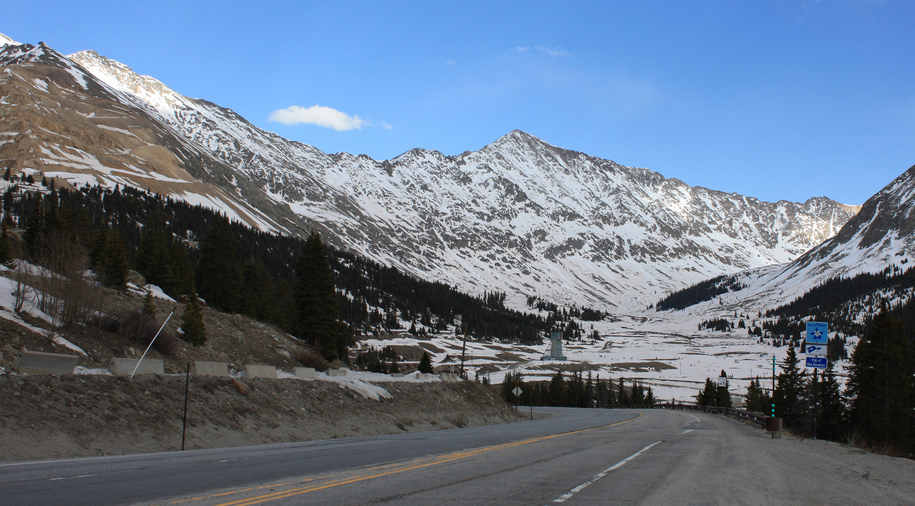 View of Mount Democrat from Climax Mine