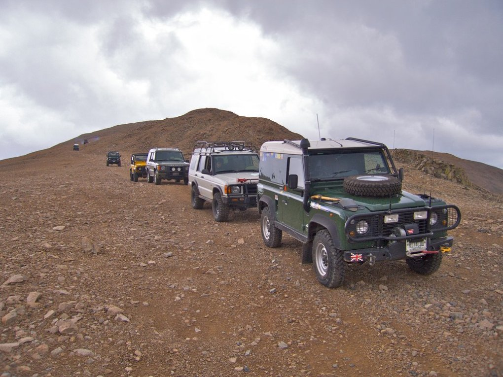 2009 Land Rover National Rally on Mount Bross