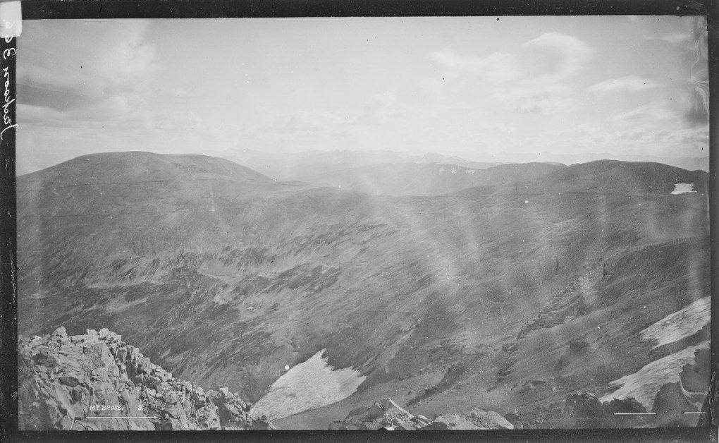 Mount Bross in 1872