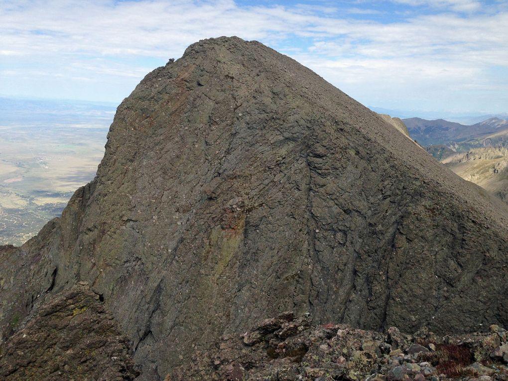 Challenger Point from Kit Carson Peak