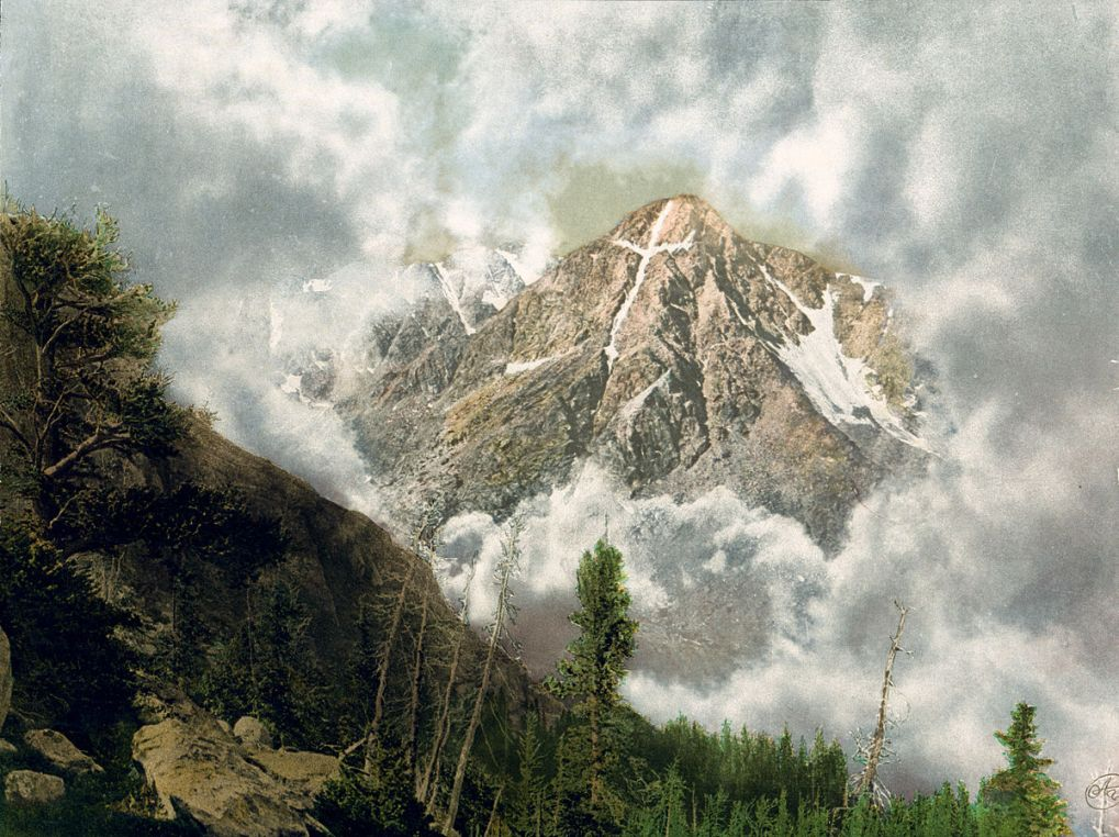 Mount of the Holy Cross Painting 1901