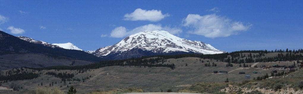 14er Mount Massive in the Mount Massive Wilderness