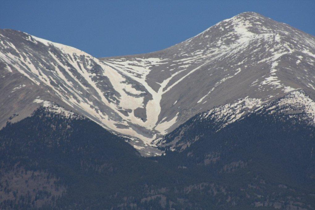 Angel and Grinch of Mount Shavano