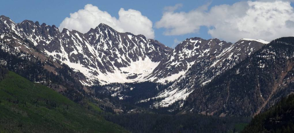 Eagles Nest Wilderness in the Gore Range of Colorado
