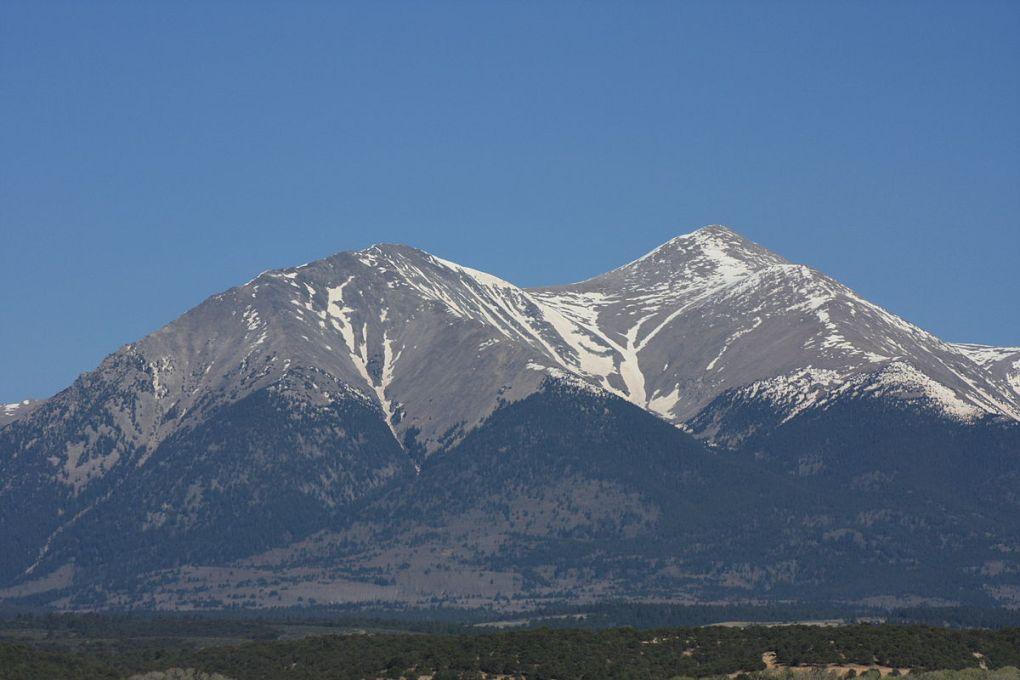 Espirit Point and Mount Shavano Colorado