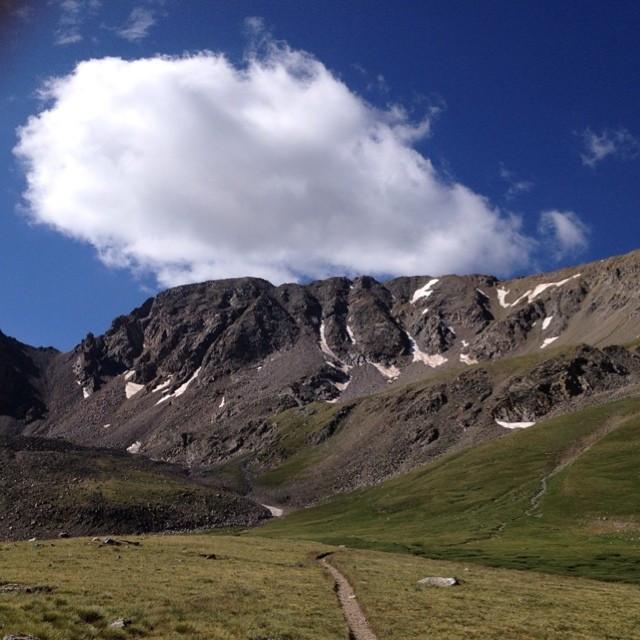 Trail to Missouri Mountain