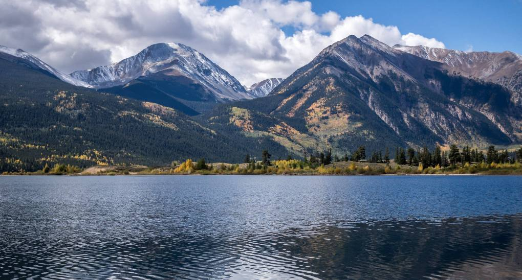 A view from Twin Lakes Colorado