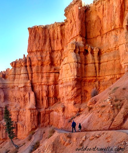 Hiking among the hoodoos in Bryce Canyon National Park makes you feel quite small.