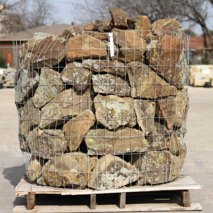 Texas Moss Boulders  Plano Stone Yard and Landscape Supply