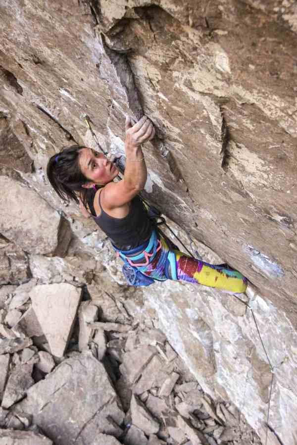 Lead Climbing Fear Falling Improve Outdoor Women' Alliance