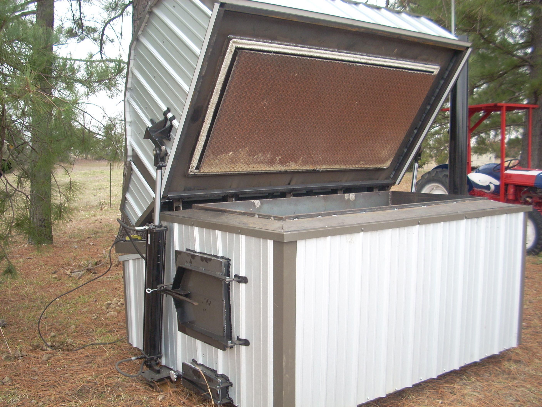 Rubert and Work: Popular Homemade indoor wood furnace
