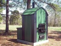 Waterless Forced-Air Wood Furnace