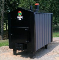 Pictures of the Outdoor Wood Boilers