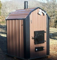 NEW AD! SHAVER Best Outdoor Wood Burning Furnace Boiler ...