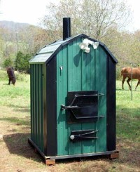 Pictures of the Shaver Outdoor Wood Fired Furnaces - Since ...