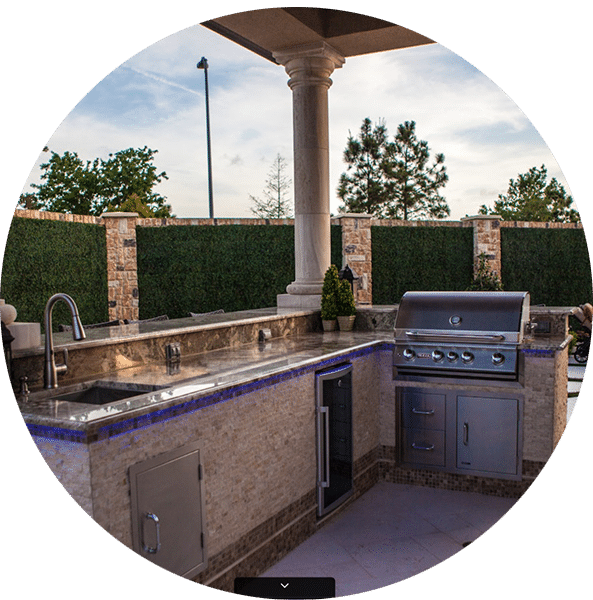 Outdoor Living Contractor Houston  Inground Pool