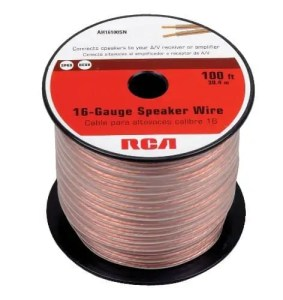 Selecting the best speaker cable based on your requirements rca ah16100sr 100 ft 16 gauge speaker wire greentooth Choice Image