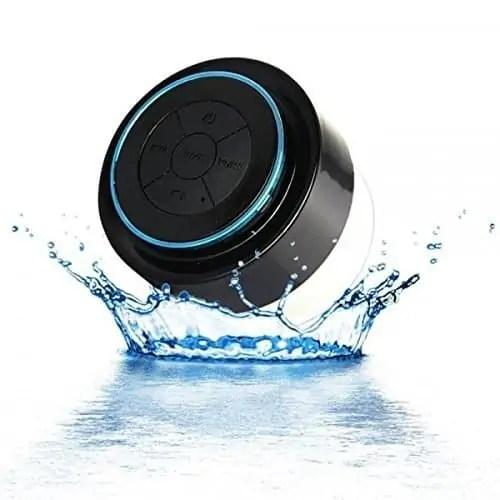 IPX7 100% Waterproof & Dust-proof Floating Bluetooth Shower Speaker