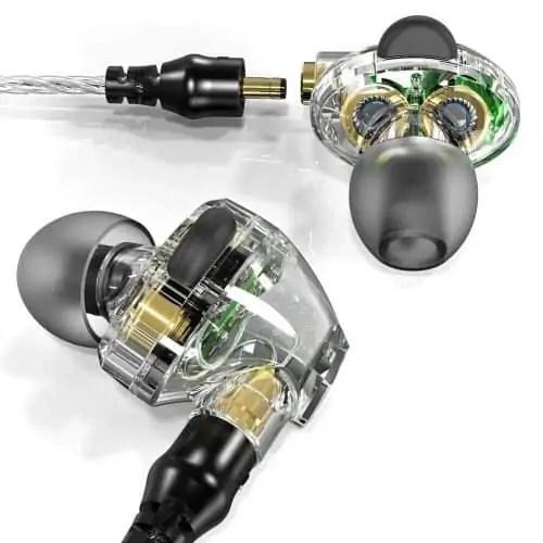 APIE Corded In-ear Headphones Earbuds Heavy Bass Noise Cancelling Earphones