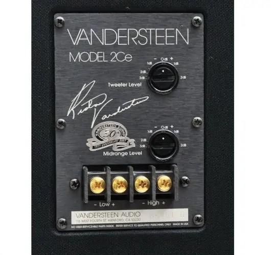 Vandersteen Model 2Ce Signature II