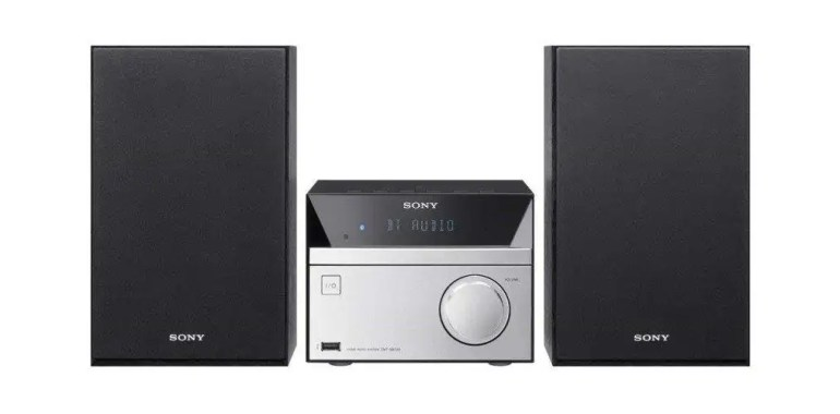 Sony CMT-SBT20 Micro Hi-Fi System with Bluetooth