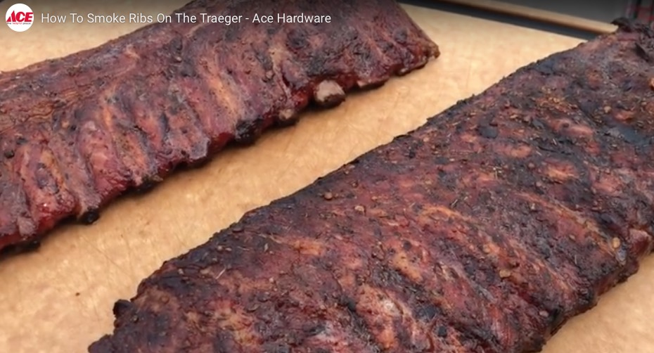 how to smoke ribs on the traeger