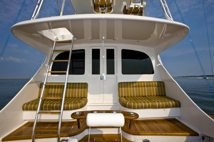 leather sofa with fabric seat cushions mart dr boat seating exterior marine watkins custom ...