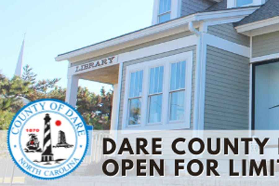 Dare County libraries expand indoor hours