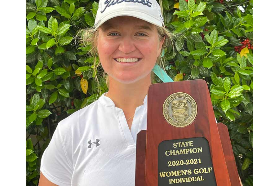 First Flight's Schuster wins 4th state golf title - The Outer Banks Voice