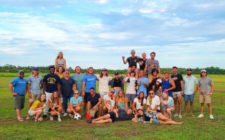 Kitty Hawk Kites employee crew picnic