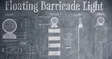 FLOATING BARRICADE LIGHT CBBsc60