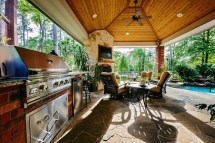 Houston Outdoor Kitchens Spring Woodlands Arbor