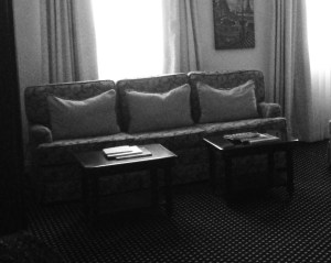 French Quarter Inn Queen Junior Suite Sitting Area