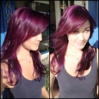 Obsessed With This Burgendy Hair Color Such A Beautiful ...