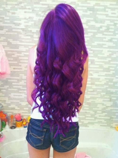 30 Cute Purple Hairstyle Ideas For This Season