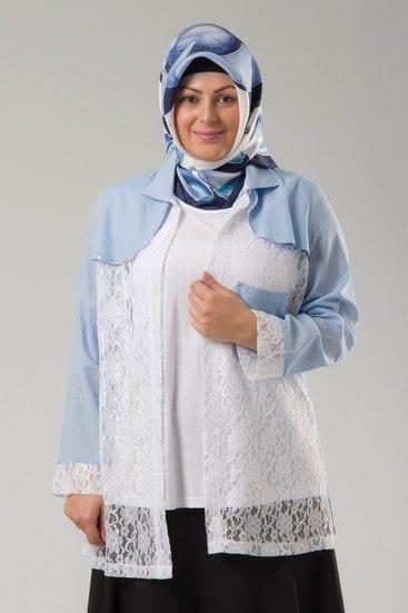 18 Pouplar Hijab Fashion Ideas for Plus Size WomenHijab Style