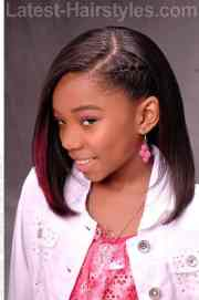 cute hairstyles black teenage