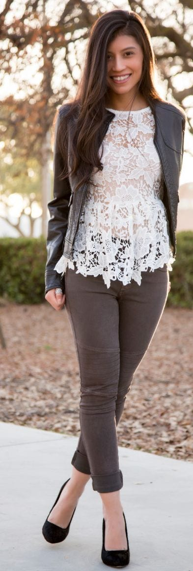 How To Wear Peplum Tops In Winter 15 Stylish Outfit Ideas