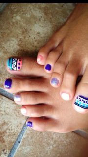 funky toe nail art-15 cool