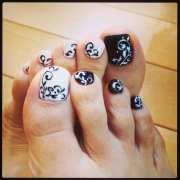 funky toe nail art-15 cool