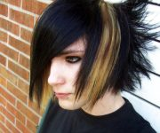 emo hairstyles guys