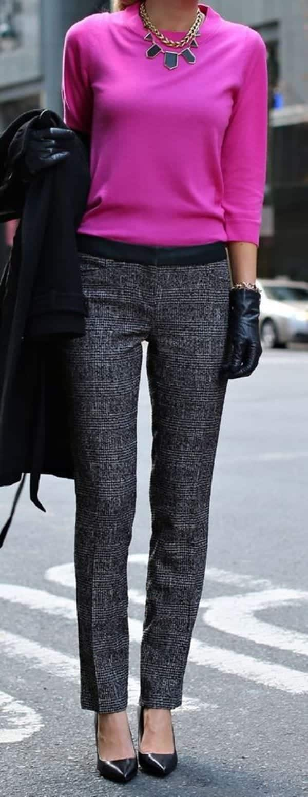 preppy winter outfits 15