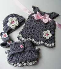 Crochet Baby Dress Pattern Free Download ~ Dancox for