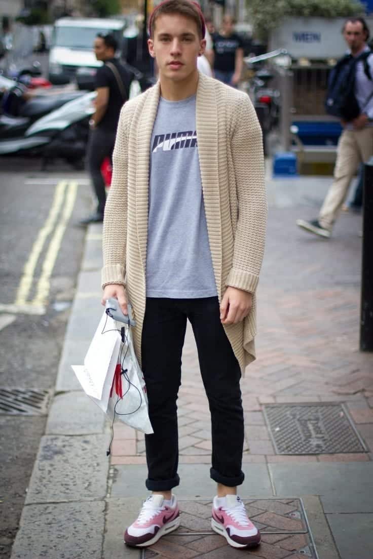 Cardigan Outfits For Guys 19 Ways To Wear Cardigans Stylishly